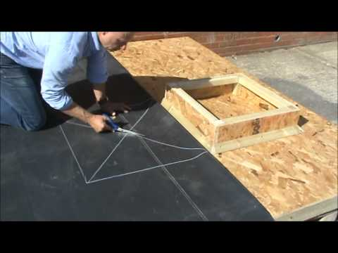 Fitting and waterproofing a Skylight with EPDM RubbaSeal