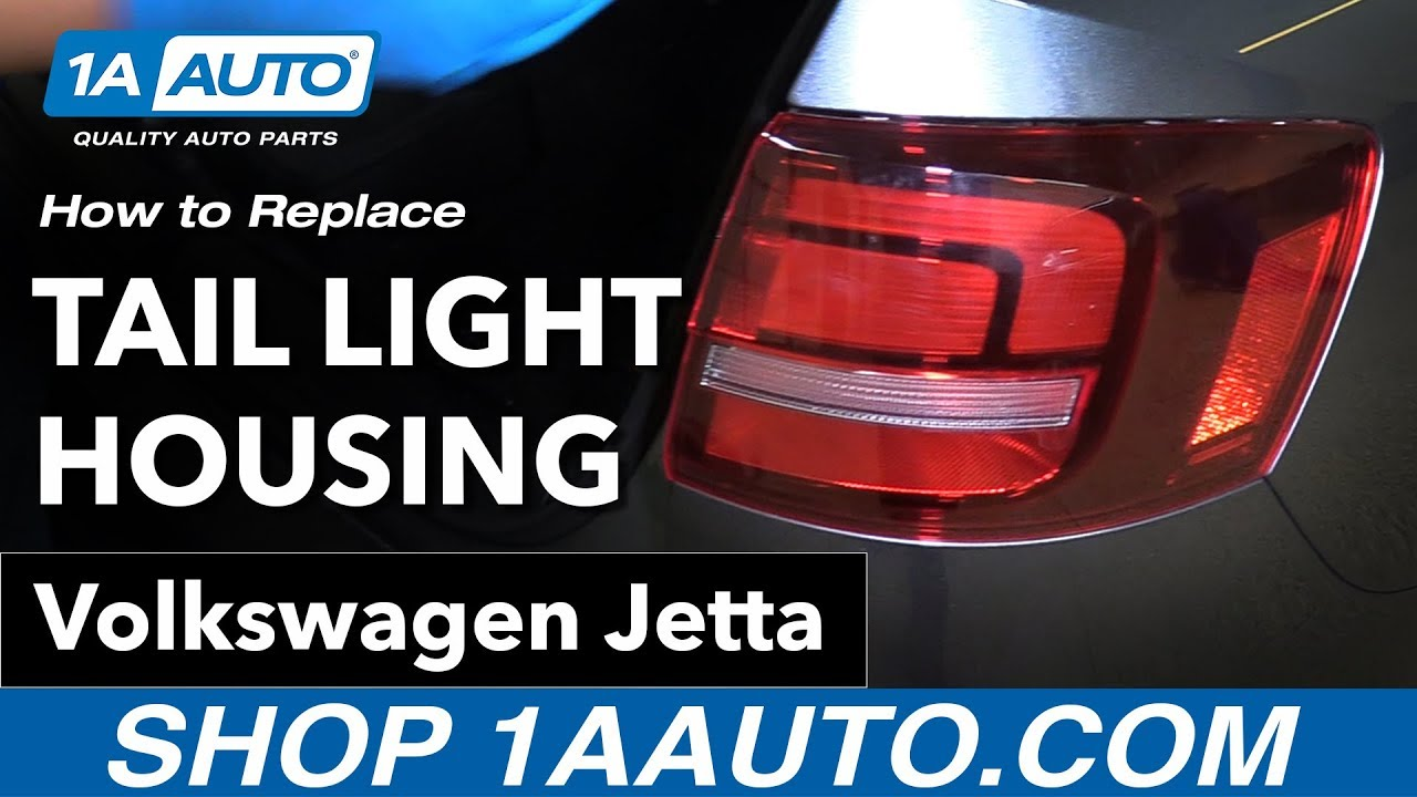 How To Replace Tail Light Housing 15 16 Volkswagen Jetta