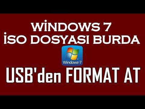 Windows 7 İSO Format Atma