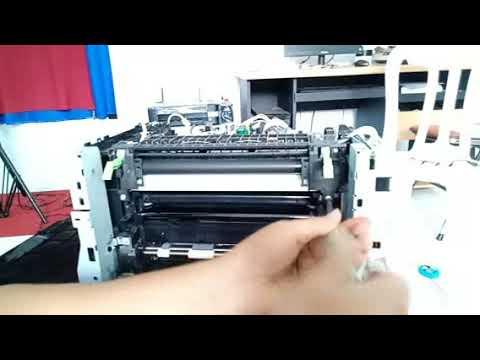 Bongkar Printer Fuji Xerox Cm115w Error 092 651 Full Youtube
