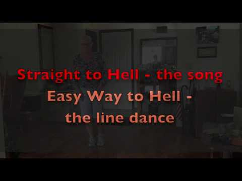 Straight to Hell line dance Easy Way to Hell - TEACH