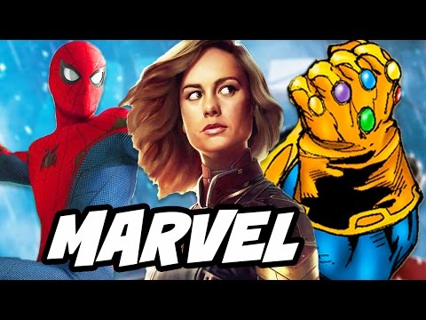 Thumbnail: Spider Man Infinity War and Captain Marvel Preview Breakdown