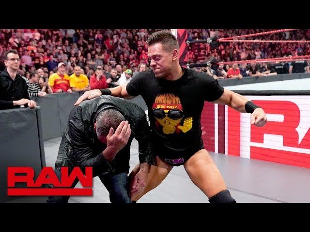 The Miz gets WrestleMania payback against Shane McMahon: Raw, April 15, 2019