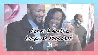 James & Amber: Surprise Proposal | Disturbriana Media