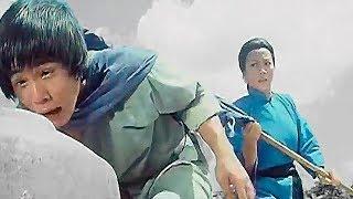 Мать тренирует сына кунг фу | Mother trains the son of kung fu