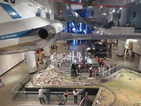 Visiting The Great Train Story - Museum of Science And Industry Chicago