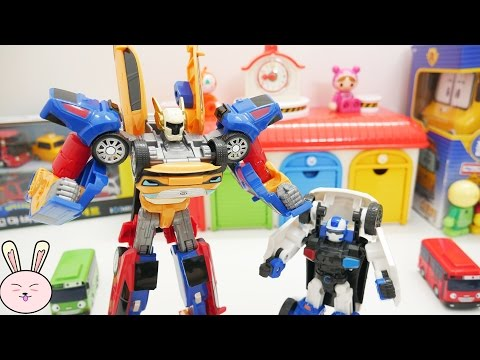 Thumbnail: TOBOT Tritan 또봇 트라이탄 TOBOT TRANSFORMERS KIA CARS TAYO The Little Bus TOYS