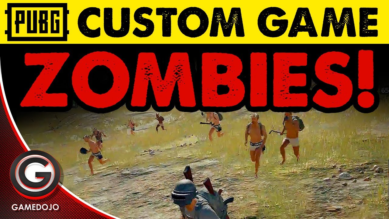 Pubg S Custom Mode Is Free For Now: CUSTOM ZOMBIE MODE FOR PUBG 🔴PlayerUnknown's Battlegrounds