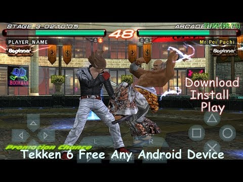 tekken 6 psp games free download