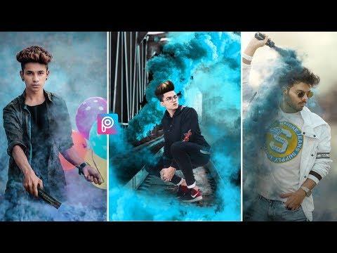 Picsart - New Smoke Bomb Photo Editing || Edit Like Prateek Pardeshi || NADIM CREATION