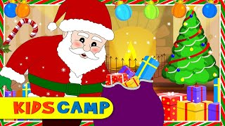 Christmas Songs for Children | Up on the Housetop | Best Christmas Carol for Kids