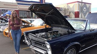 1965 Pontiac GTO - Read the Bumper Sticker on Dash - 4k Interview