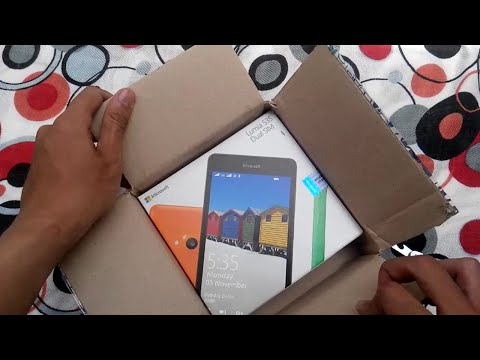 unboxing microsoft lumia 535 indonesia (Juragan Tekno)