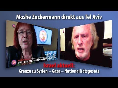 Israel aktuell: Grenze zu Syrien – Gaza – Nationalitätsgesetz