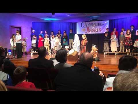 "Creekside Christian School ""Oh little town of Bethlehem"""