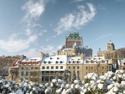 Qu233bec City Winter Wonderland YouTube