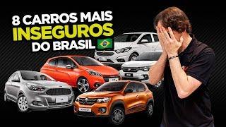 🚑 8 Carros mais INSEGUROS do Brasil 2018 (incluindo verdades pouco conhecidas) | AutoVideos