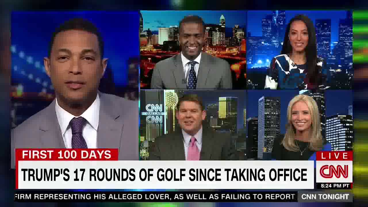 CNN's Angela Rye joins Don Lemon to discuss Trump's golf ...