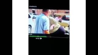 my 600 lb life man falls out of golf cart