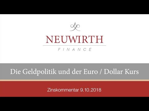 Die Geldpolitik Und Der Euro/Dollar Kurs