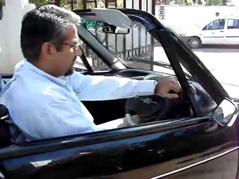 REVA: India' First Electric Car Demo by Chetan Maini