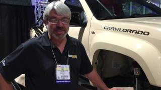 SEMA 2015 -  Rick Pewe in the BDS Booth