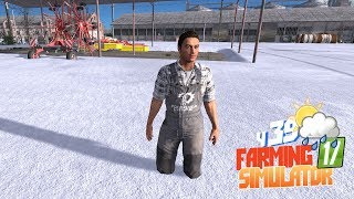 Farming Simulator 17 - Погодная аномалия Фермеры бродят в снегу