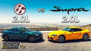 Toyota 86 vs Supra 2.0 - Step Brothers - TV Season 7 Ep.4 | Everyday Driver