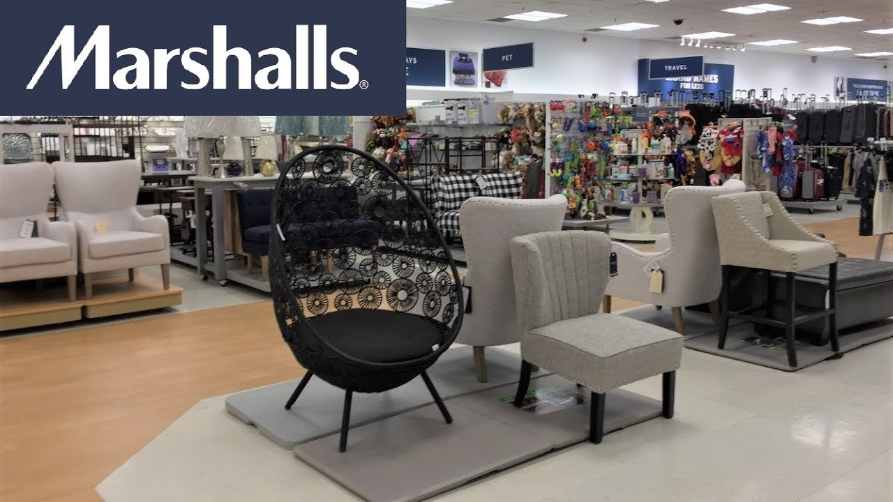Marshalls Furniture Chairs Armchairs Tables Home Decor Shop With Me Shopping Store Walk Through 4k Youtube