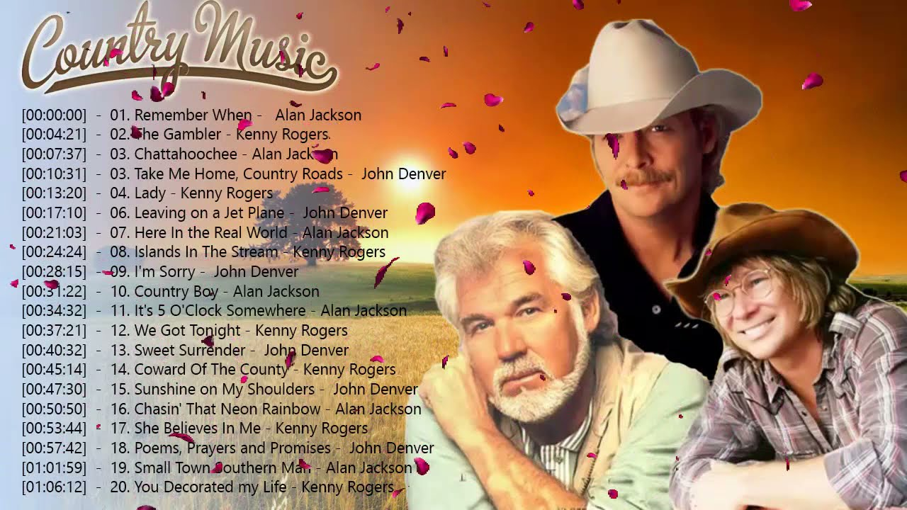 Download The Best Of Country Songs Of All Time - Top 100 Greatest Old Country Music Collection