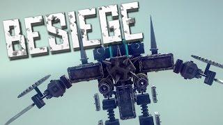 WAR ROBOT - Besiege Alpha Sandbox