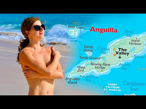 Many views of Anguilla Island in HD
