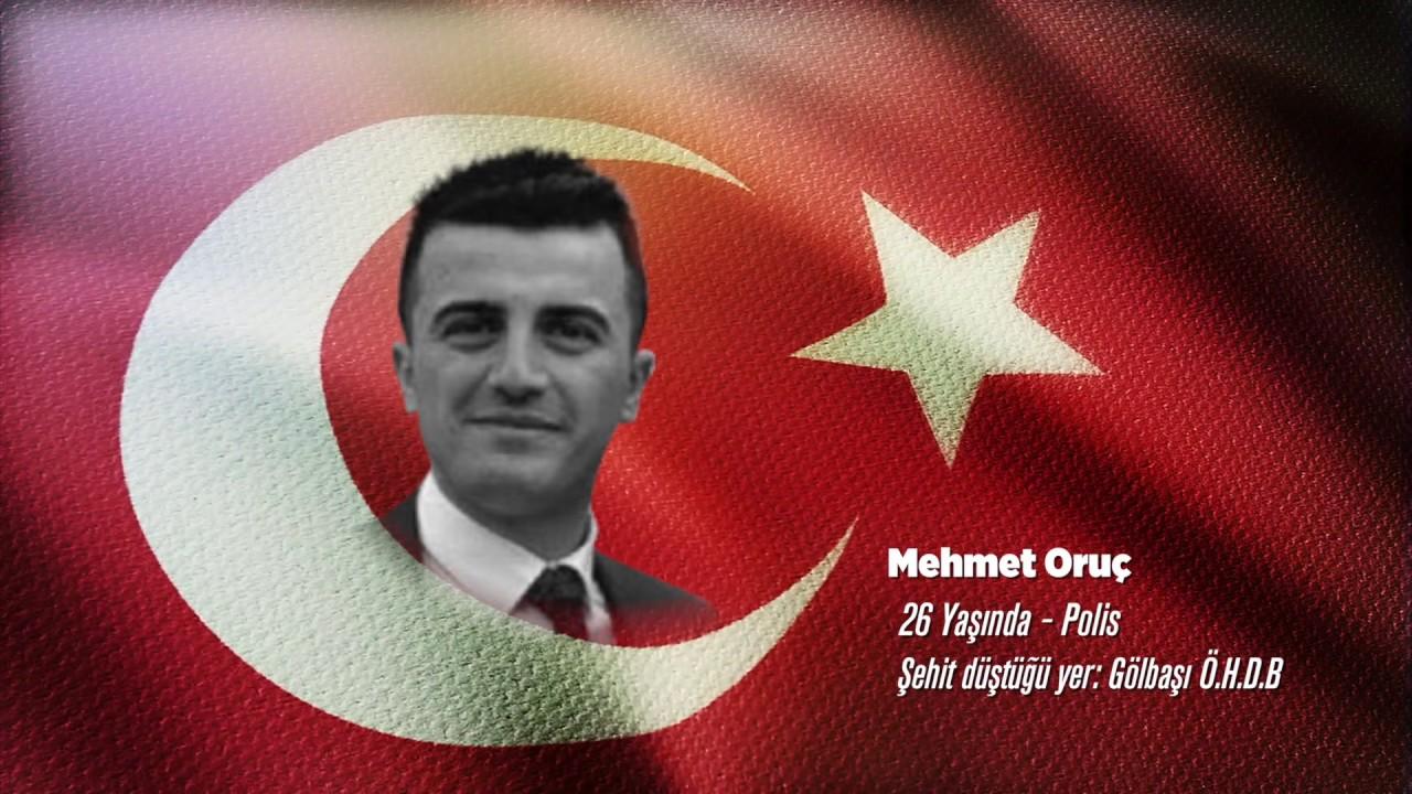 15 Temmuz Şehidi Mehmet Oruç