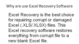 Excel File Recovery