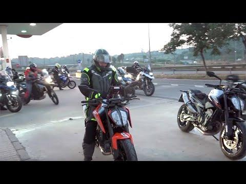Motosx: Ruta Desafío Invernal  con la KTM Duke  Limitada A