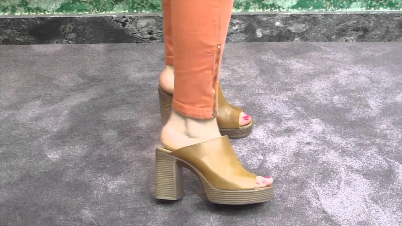 Gadea Dino Cuero Zapatos Diana Youtube Zueco En jqRcAL345S