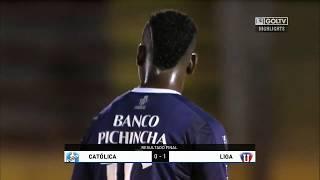 Católica 0:1 Liga