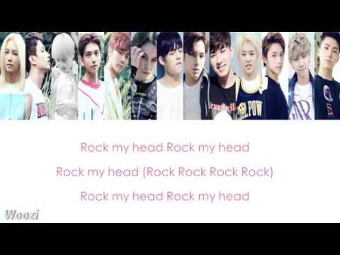 SEVENTEEN - Rock | HAN-ROM LYRICS