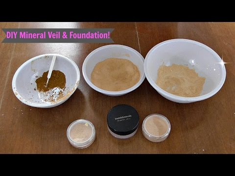 DIY Mineral Veil & Foundation!