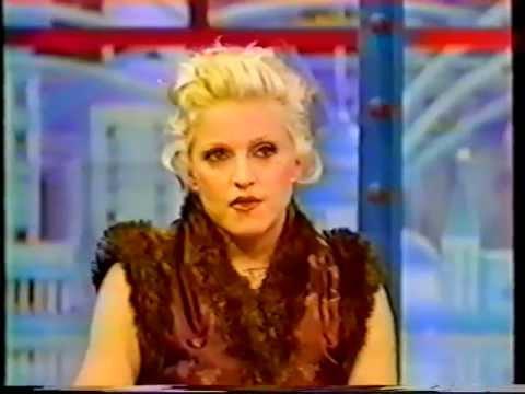 Madonna    Studio Gabriel  October 1994 French TV.