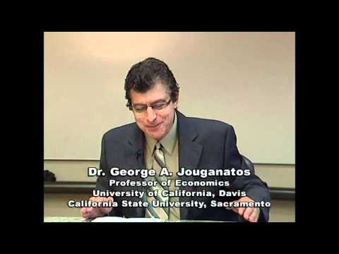"Dr. George Jouganatos, Ph.D., discusses ""Economic Analysis of Business Matters."""