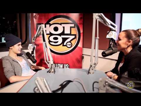 Justin Bieber shares with Angie Martinez his his SkyDiving plans
