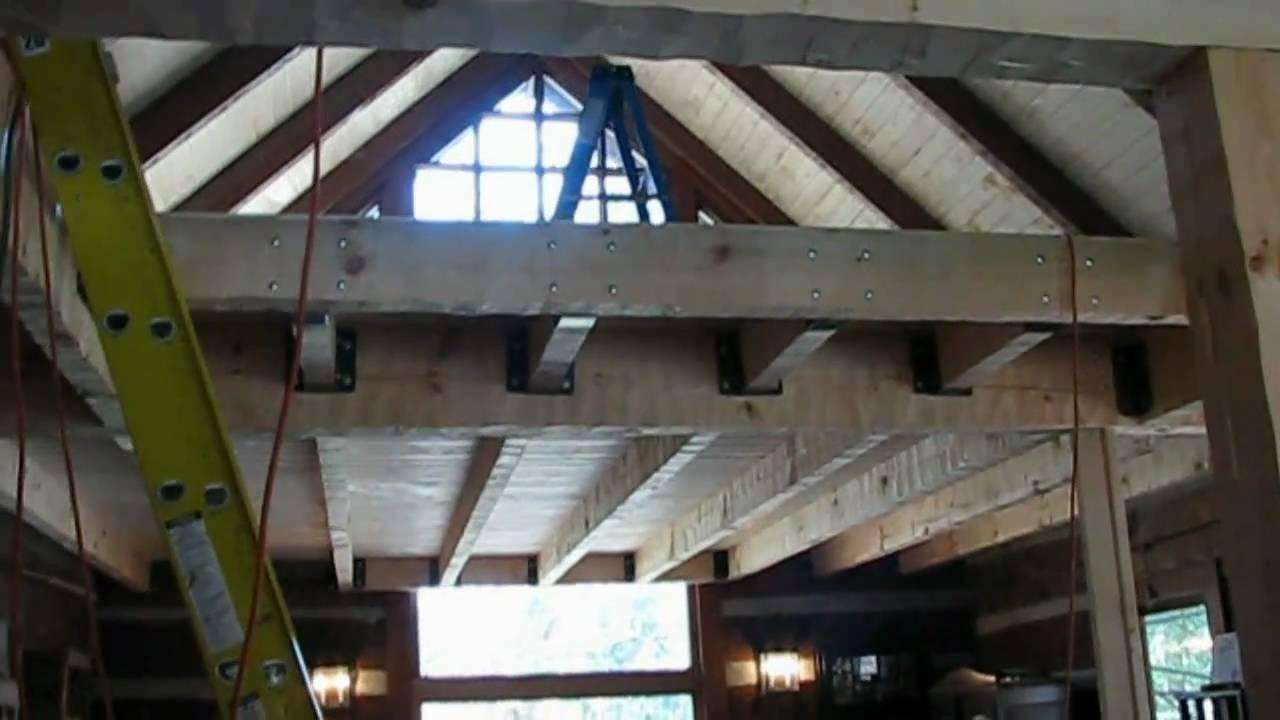 Mountain Cabin Renovation Vlog 11 Wall And Dormer