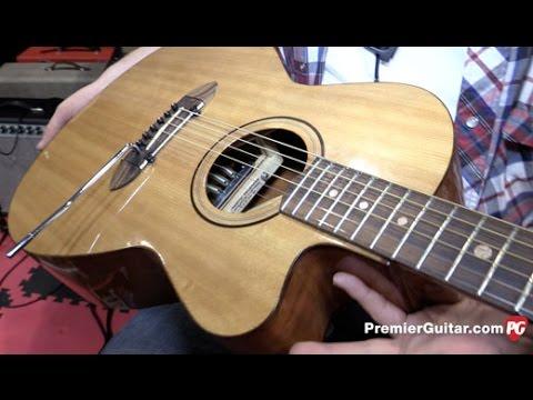 SNAMM '15 - BA Ferguson P H A T  Acoustic Tremolo Demo