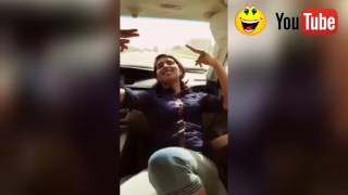 Mere Rashke Qamar || original video of Gulmohar kaur dance in car