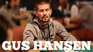 Gus Hansen is Back to Playing Tournament Poker