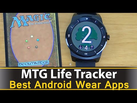 MTG Life Tracker - Best Android Wear Apps Series