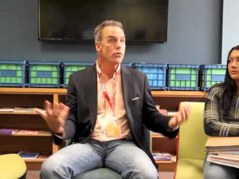 Actor Richard Burgi, part 1 of 2
