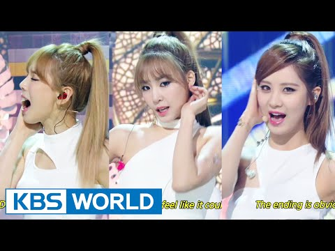 Girls' Generation-TTS (소녀시대-태티서) - Adrenaline / Holler [Music Bank COMEBACK / 2014.09.26]