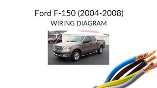 Ford F150 - WIRING diagram (2004-2008) - YouTube | Ford F150 Wiring Chart |  | YouTube
